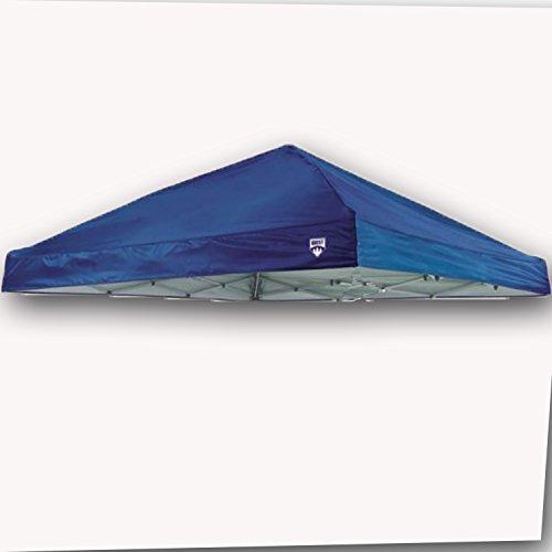 Quest Canopy Top Q64 10' x 10' Slant Leg Instant Up Canopy Gazebo Replacement Tent Parts (Blue)