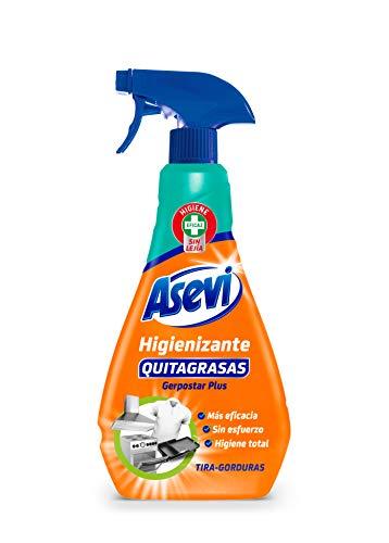 Quitagrasas Higienizante Asevi 750 ml