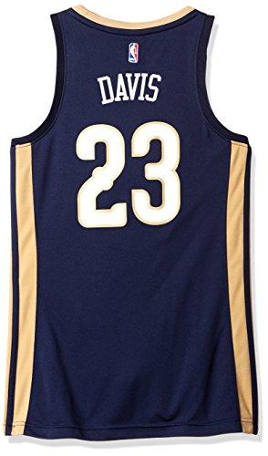 NBA New Orleans Pelicans Anthony Davis # 23Replica Maglia da Donna, Donna, Road, Road