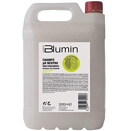 Blumin Champú Profesional de Peluquería Multivitaminas Uso Frecuente, 5 Litros