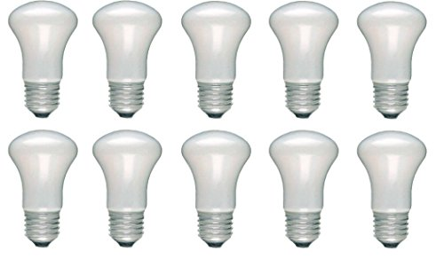 10 Glühlampe Glühbirne Krypton Pilsform E27 100W 100 Watt matt 230V Leuchtmittel