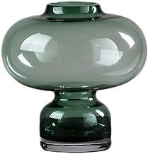 Flower Bottle Hydroponic Plant Glass Vase Cylinder Vases for Wedding Table Geometry (Size : 21 * 19cm)