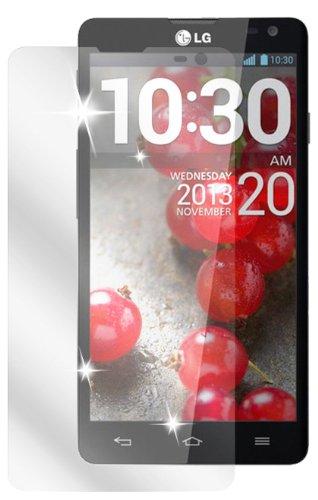 dipos I 2X Schutzfolie klar kompatibel mit LG L90 Folie Bildschirmschutzfolie