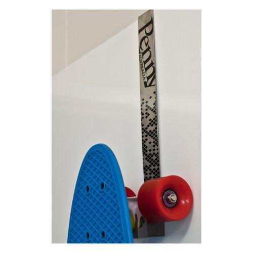 Penny Wall Hanger Skateboard-Zubehör, Unisex, Erwachsene, Grau (Grau), Einheitsgröße