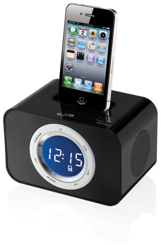 ilive FM Clock Radio for Iphone / Ipod (ICP211B)