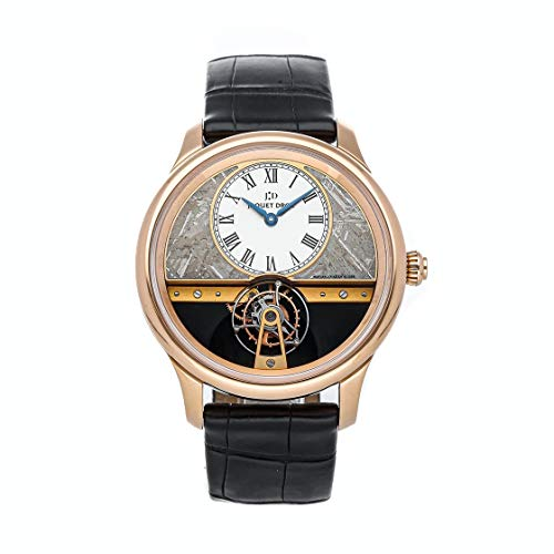 Jaquet Droz Tourbillon Mechanical (Hand-Winding) Grey Dial Watch J023033214 (Pre-Owned)