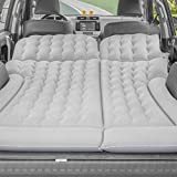 Air Mattress SUV with Electric Air Pump for Back Seat,Thickened and Double-Sided Flocking,Portable Car Mattress for Camping Travel Extended Outdoor, Home Sleeping Pad Fast Inflation
