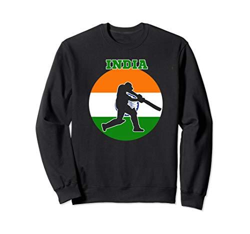 Cricket Apparel India Cricket Jersey Batsmen Design Sweatshirt