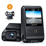APEMAN Dash Cams Front and Rear Support GPS 1080P Full HD Dual Lens