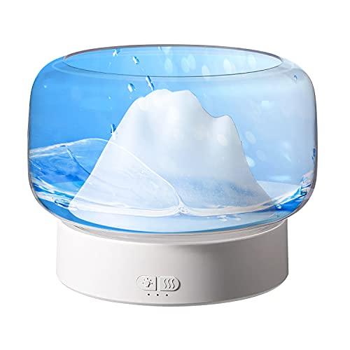 Difusor Aceites Esenciales Bebe 400ml Humidificador de Aromas |Aida| Ambientador Electrico Transparente...