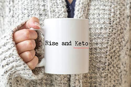 Ol322ay Opstap en Keto Keto Koffiemok Keto Mok Keto Leven Keto Levensstijl Low Carb Coffee Bullet Proof Koffie Ketogeer Koffie Ketosis Koffie