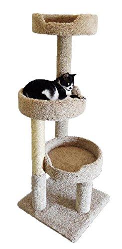 New Cat Condos Premier Kitty Pad Cat Tree, Brown