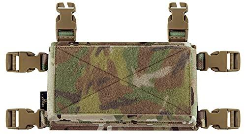 KRYDEX MK3 Placard with Hook Backing for Tactical Vest Chest Rig (Multicam)
