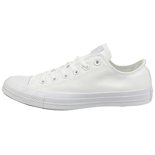 Converse Chuck Taylor All Star, Sneakers Unisex - Adulto, Bianco, 41 EU