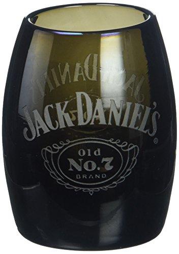 M. CORNELL IMPORTERS 8715 Jack Daniel's Black Glass Barrel Shot