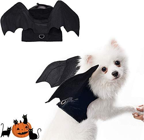Pet Halloween Bat Wings Disfraz,Disfraz de Perro de murciélago de Halloween,alas de murciélago de Perro,Disfraz de Perro,Disfraces de Halloween para Mascotas para Perros medianos