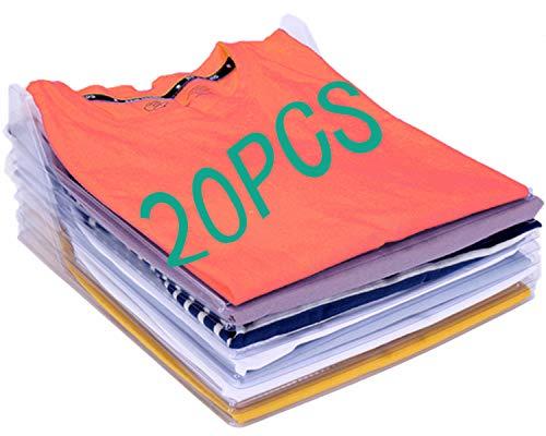 Nifogo Organizador de Camisetas,Camiseta Carpeta - Antihumed