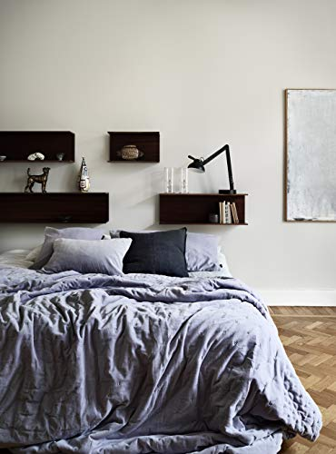 LINUM Paolo Tagesdecke, Baumwolle, Helles Lavendel Lila, 270 x 260 cm