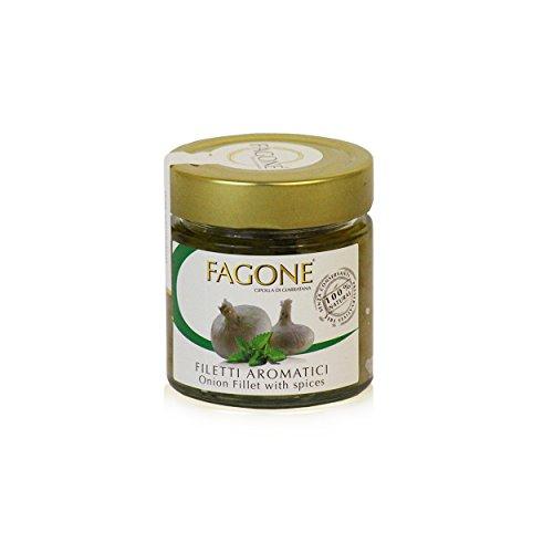 Fagone - Filetti di Cipolla Aromatici PRESIDIO SLOW FOOD, 190 gr