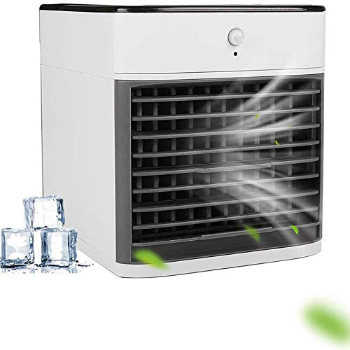 SBR Luftkühler Luftbefeuchter New Kühler Automatische Körper Induction Intelligente Kühlventilator USB-Desktop-Klimaanlage Ventilator 2020 Sommer-heißen