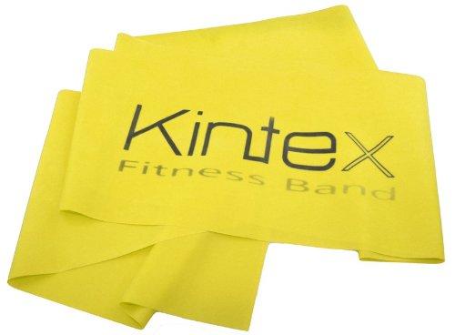 Kintex Fitnessband Gelb (dünn), Gymnastik-Band, Wiederstands-Band