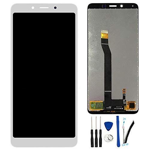 SOMEFUN Pantalla Táctil LCD de Digitalización Asamblea Pantalla de Recambio para Xiaomi Redmi 6 / Redmi 6A Redmi6A Blanco