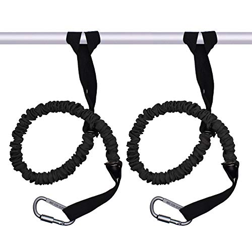 VNVM Kayak Paddle Leash - 2 Pack Safety Paddle Holder Safety Rod Leash Tool Lanyard Kayak Fishing Accessories Stretchable Coiled Rod for Kayak and SUP Paddles