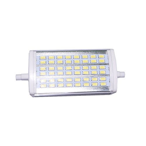MagiDeal R7S Ampoule Halogène LED Lampe Halogène Réglable à Double Extrémité 14W 118mm - Blanc