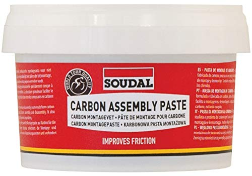 Soudal Pasta Montage Carbon 200 ml (Fett)/Carbon Assembly Paste 200 ml (GREASE)