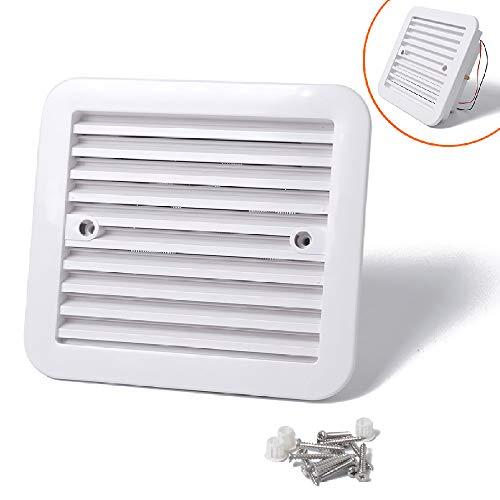 Ventilación de ventilación para autocaravana, ventilador de escape Maso 12 V para caravana