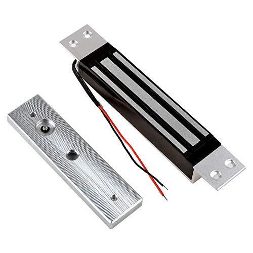 NN99 cerradura del control de acceso de la cerradura electromágnetica magnética eléctrica de DC12V 180KG / 350lbs la caja fuerte a prueba de fallos para la puerta madera/metal/vidrio