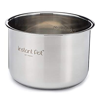 Instant Pot Stainless Steel Inner Cooking Pot - 6 Quart