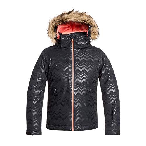 Roxy Jet Solid Girl-jas ski/Snowboardjas voor meisjes, 8 – 16 jaar