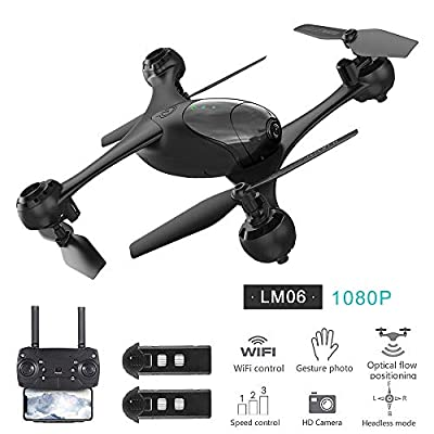 Goolsky KFPLAN KF600 Drone with Camera 720P Wifi FPV Optical Flow Positioning Gesture Photograph Altitude Hold Quadcopter