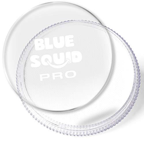 Blue Squid Schminke Face Paint und Bodypaint - Klassisches Weiß 30g, PRO, Hochwertige, professionelle, wasserbasierte Einzelbehälter, Face und Bodypaint Farbe für Erwachsene, Kinder und SFX