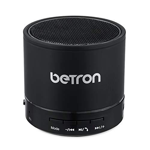 Betron KBS08 Wireless Portable Travel Bluetooth Speaker (Titanium)