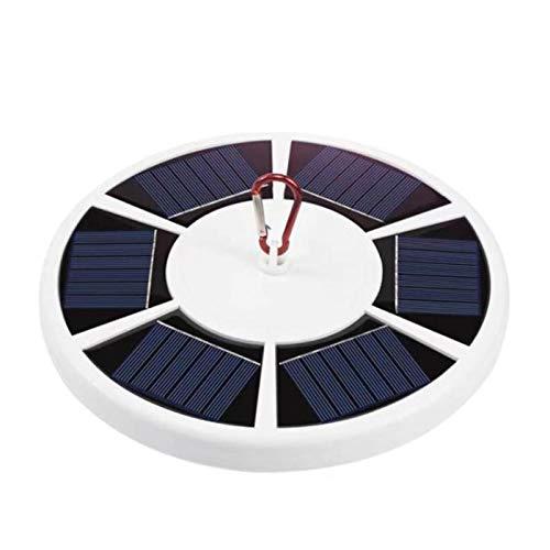 Flag Pole Light Solar Luminosità regolabile Lampada da campeggio 42 LED SMD 5W Interruttore dimmer a due velocità