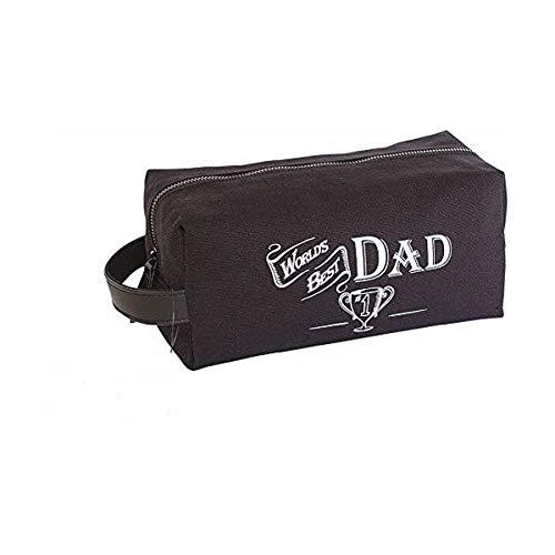 Ultiem cadeau voor de beste man 's werelds vader mannen mannen wassen reistas