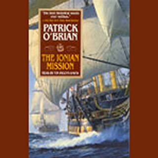 The Ionian Mission audiobook cover art