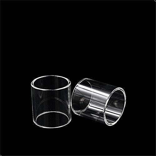 2ST 3 ml Ersatz Pyrex Glasrohr for Kanger Protank 5 Atomizer Vaporizer Fit Subox Mini-C Starter Kit 50W KBOX Mini-C Mod (Frei von Tabak und Nikotin) (Farbe : Klar)