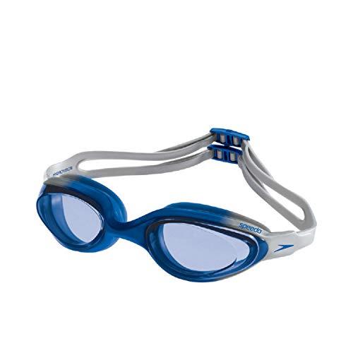 Speedo Hydrovision Máscara de Natação, Unissex, Azul (Azul Metalico Azul), Único