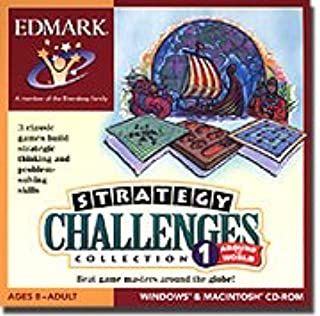 New Edmark Strategy Challenges Collection 1 Around The World 9 Different Game Masters Challenge You