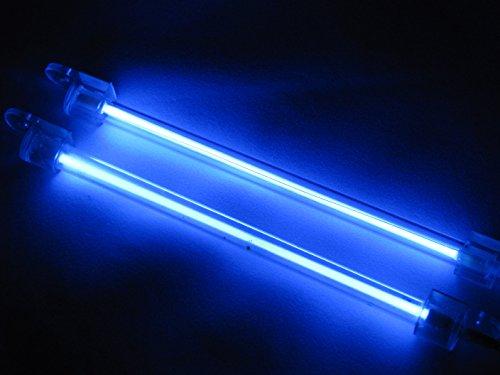 2X 15 centimetri auto per esterni/interni Lampada al neon blu-chiaro Brand New