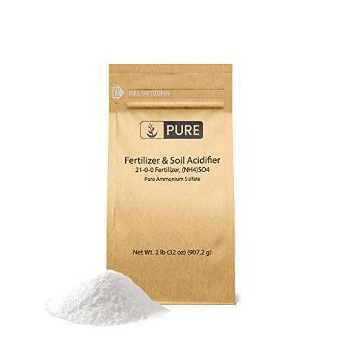 Pure Ammonium Sulfate (2 lb.), Eco-Friendly Packaging, Fertilizer &...