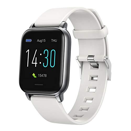 Ake Smart Watch Men's Full Touch Fitness Tracker Presión Arterial Reloj Inteligente Lady GTS Impermeable Bluetooth Smartwatch,B
