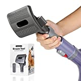 LANMU Grooming Attachment Compatible with Shark Navigator NV350, NV351, NV352, NV356, NV357, UV440 Vacuum Cleaner, Dog Pet Groom Tool Brush with Converter Adapter