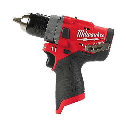 Milwaukee 0 M12FDD-0 FUEL Akku-Bohrschrauber 12 Volt, 12 V, Red & Black