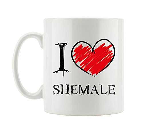 I love Shemale Fun Tasse