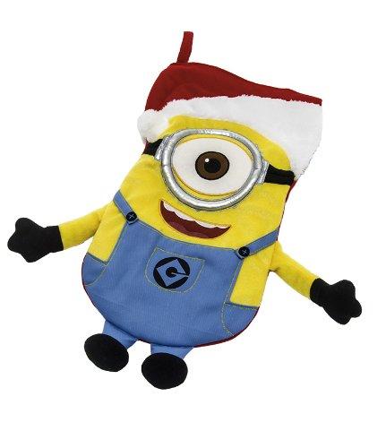 Joy Toy Minions 97141 - Calza della Befana in Peluche, 35X25 cm