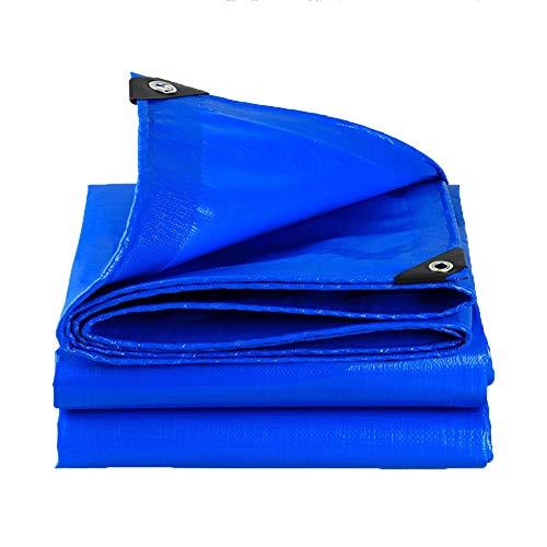 Abdeckplanen Plane Starke blaue wasserdichte Planen-Boden-Blatt-Abdeckungen for das Kampieren, Fischen, Gartenarbeit u. Haustiere - 180g / ㎡ (Size : 4X6m)